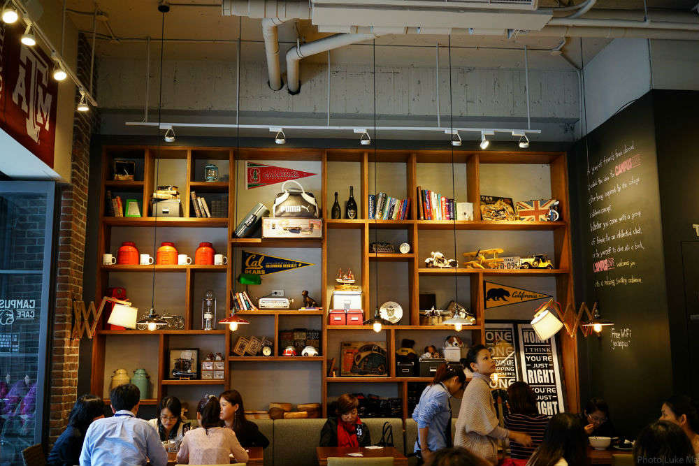 The top cafes in Taipei