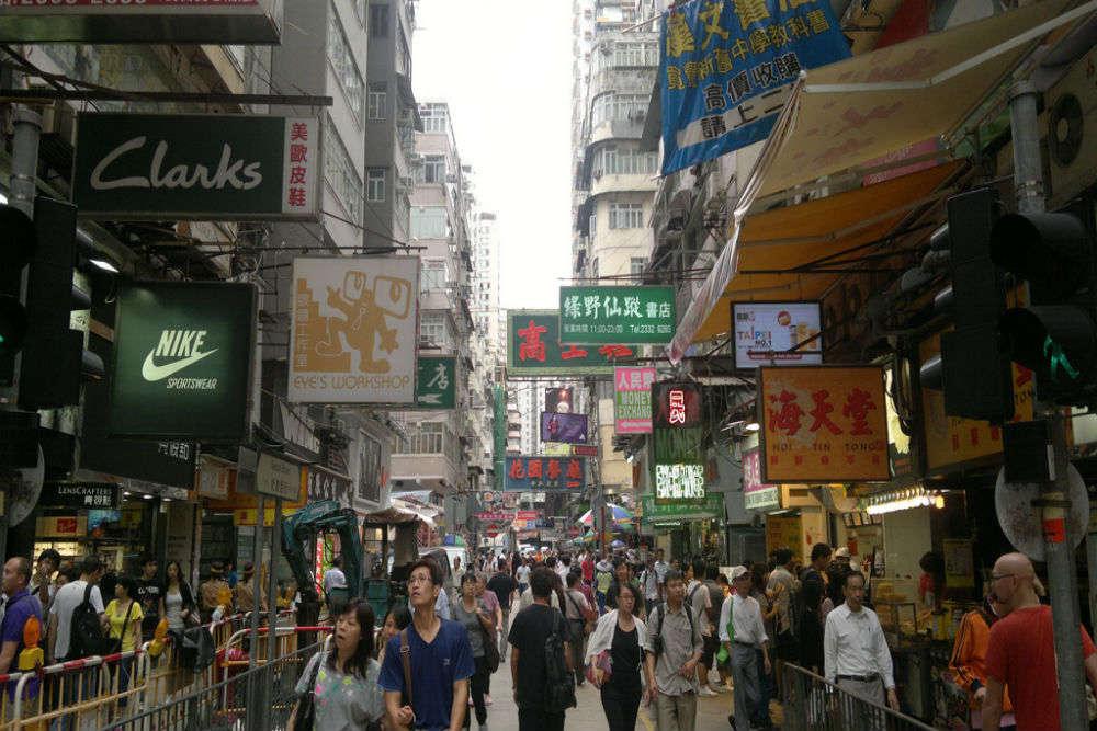 Shop till you drop in Hong Kong