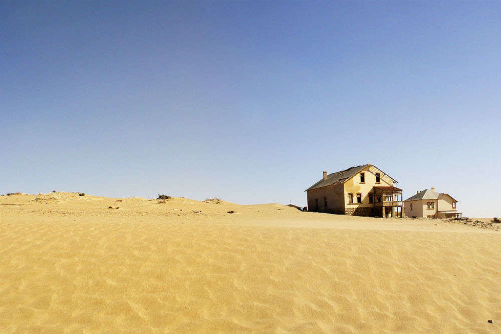 Kolmanskop, a ghost town devoured by the desert of Namib
