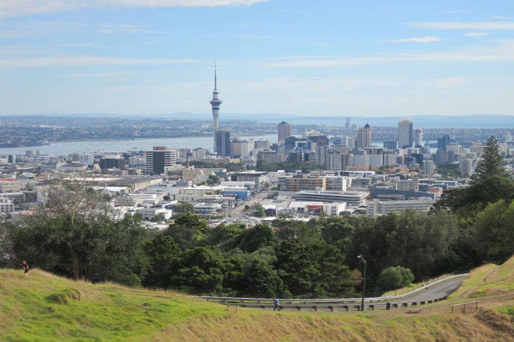 Auckland's popular volcanic peaks