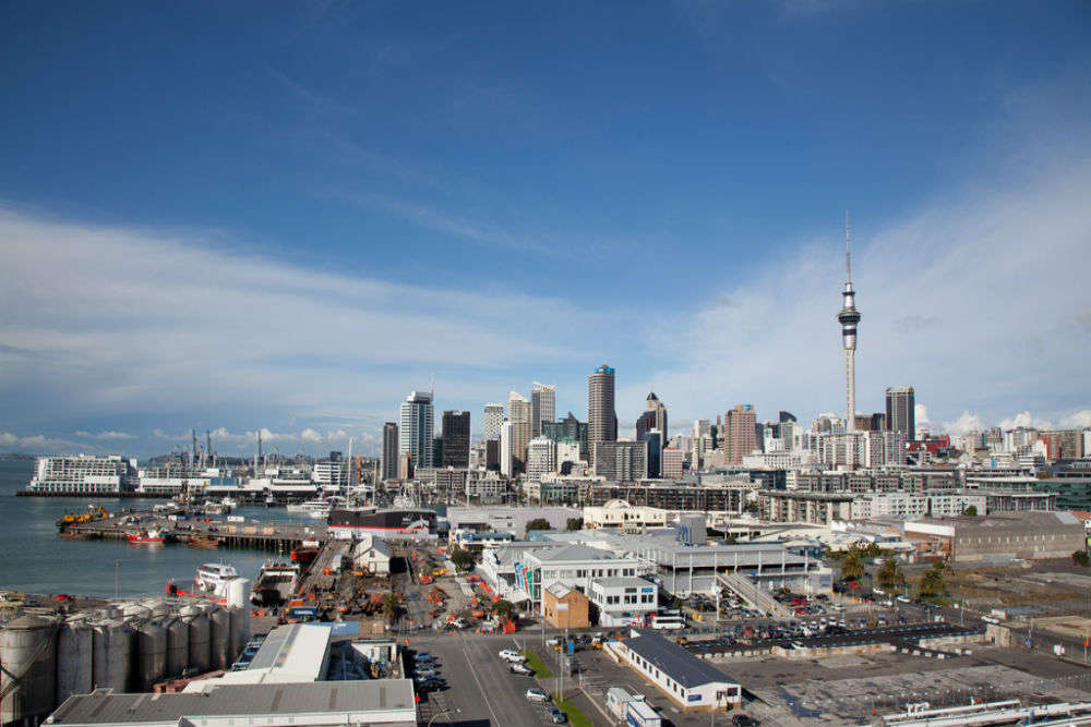 Explore downtown Auckland