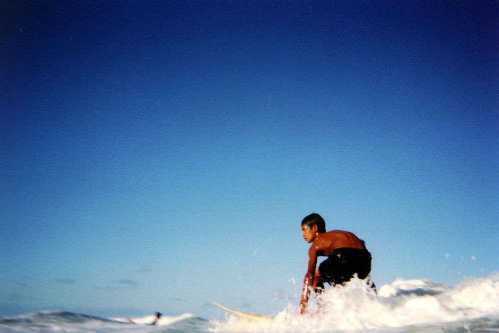 Surfing Ti Tree Bay