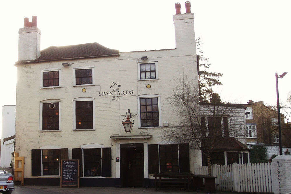 The Spaniard's Inn, Hampstead