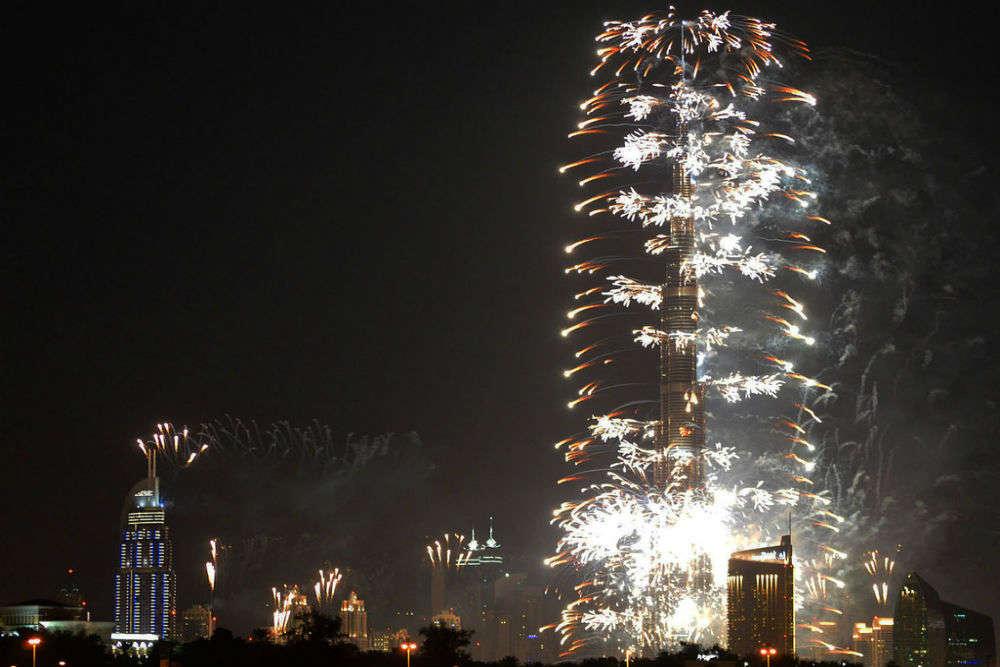 The extravagant New Year Dubai 2015