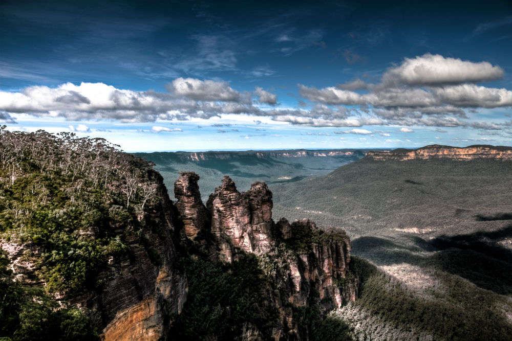 The Blue Mountains of Australia