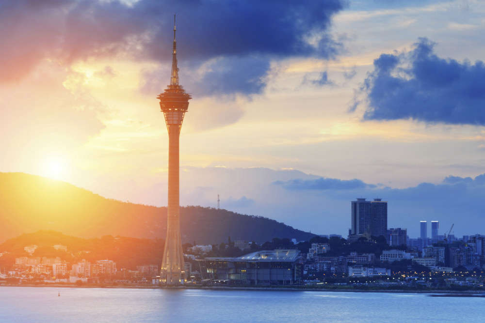 The vibrant city of Macau