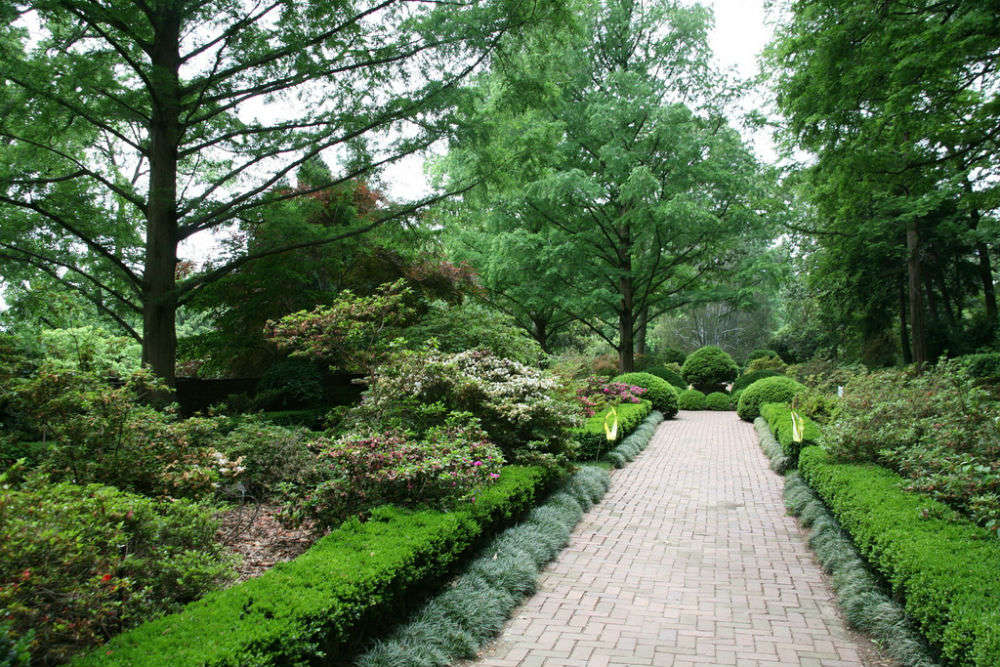 Tudor Garden: mythical creatures and knot gardens in Hamilton