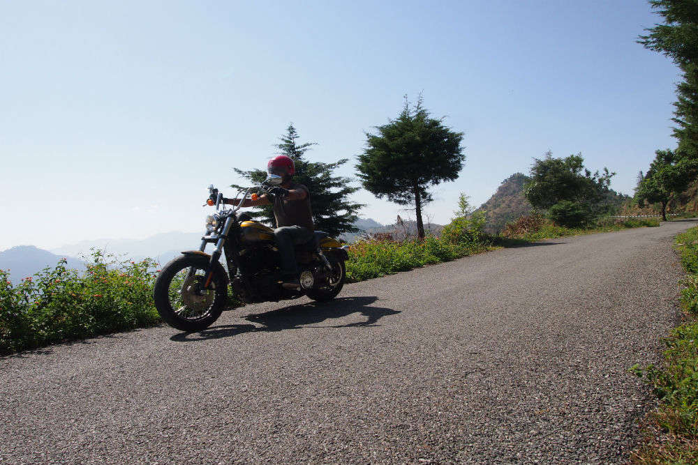 Motorcycle Diaries from Kumaon