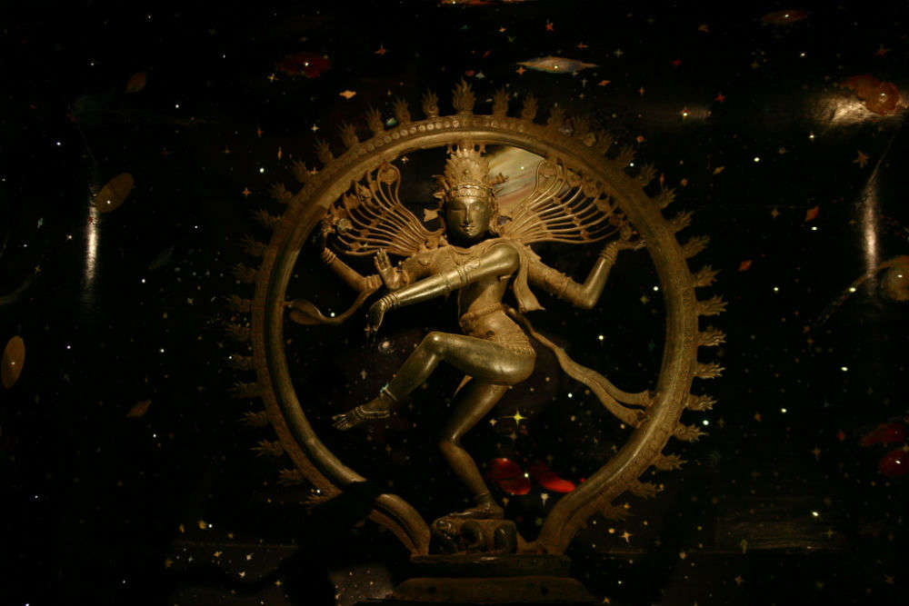 The bronze Shiva of the Chola dynasty