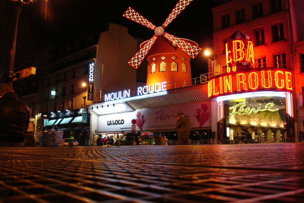 Entertainment hubs in Paris