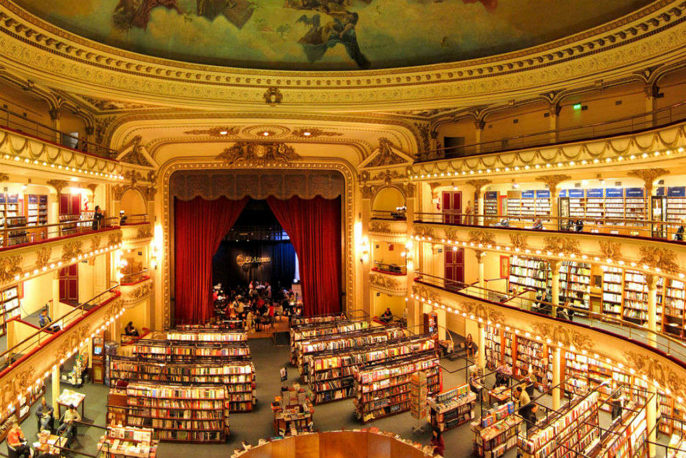 El Ateneo Grand Splendid—a beautiful bookstore in a former theatre