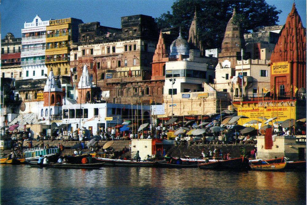 The sacred ghats of Varanasi