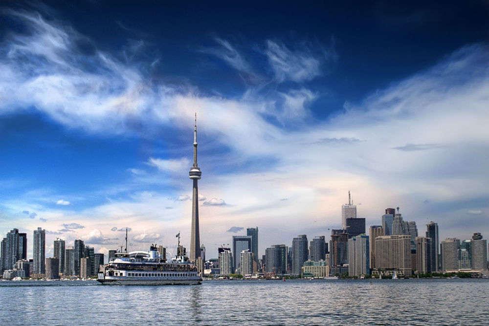 The neighbourhoods of Toronto