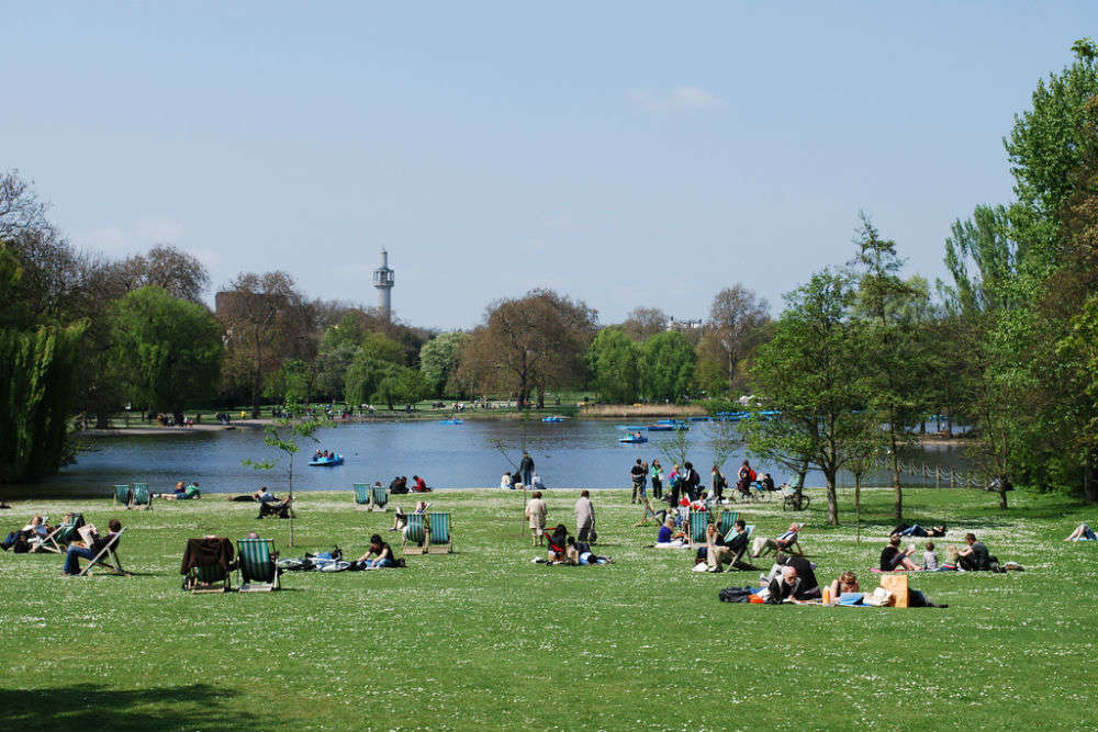 Regent's Park in Withnail and I