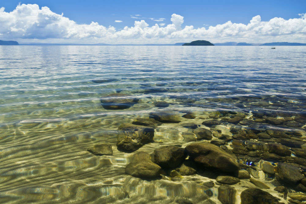 Cruising the great Lake Taupo