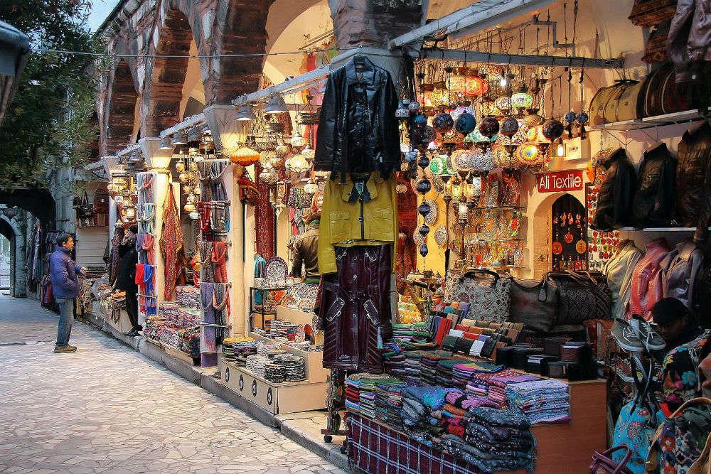 Exploring Istanbul's vibrant shopping scene