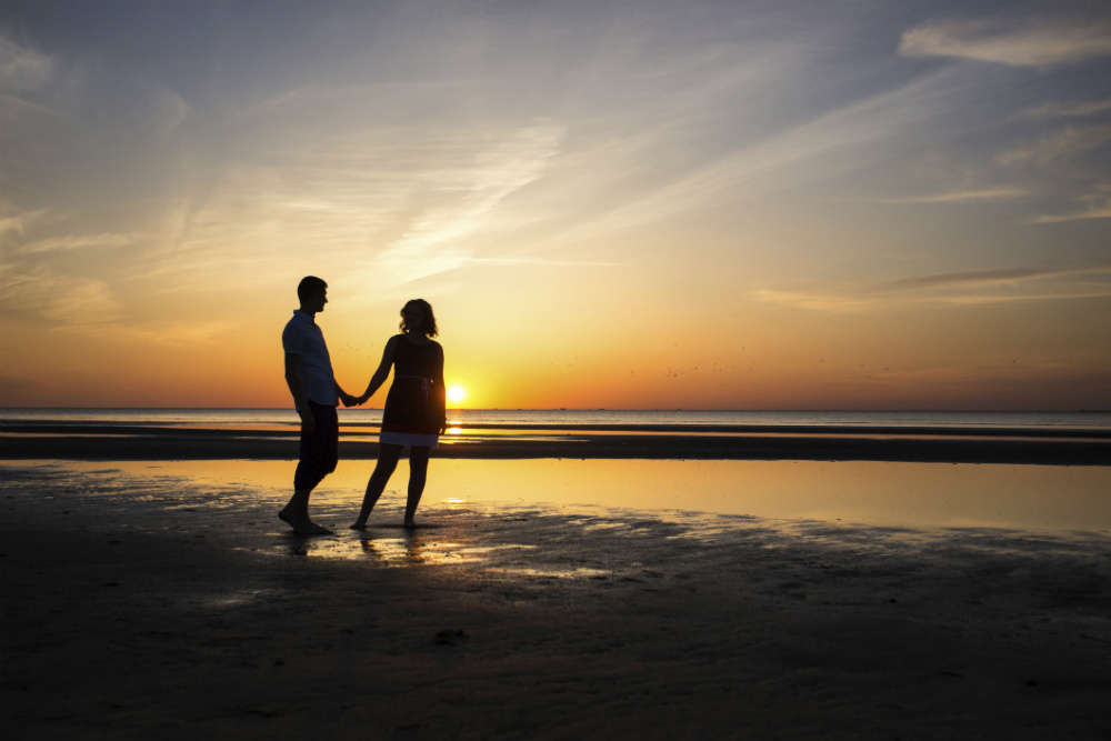 Most romantic getaways in India