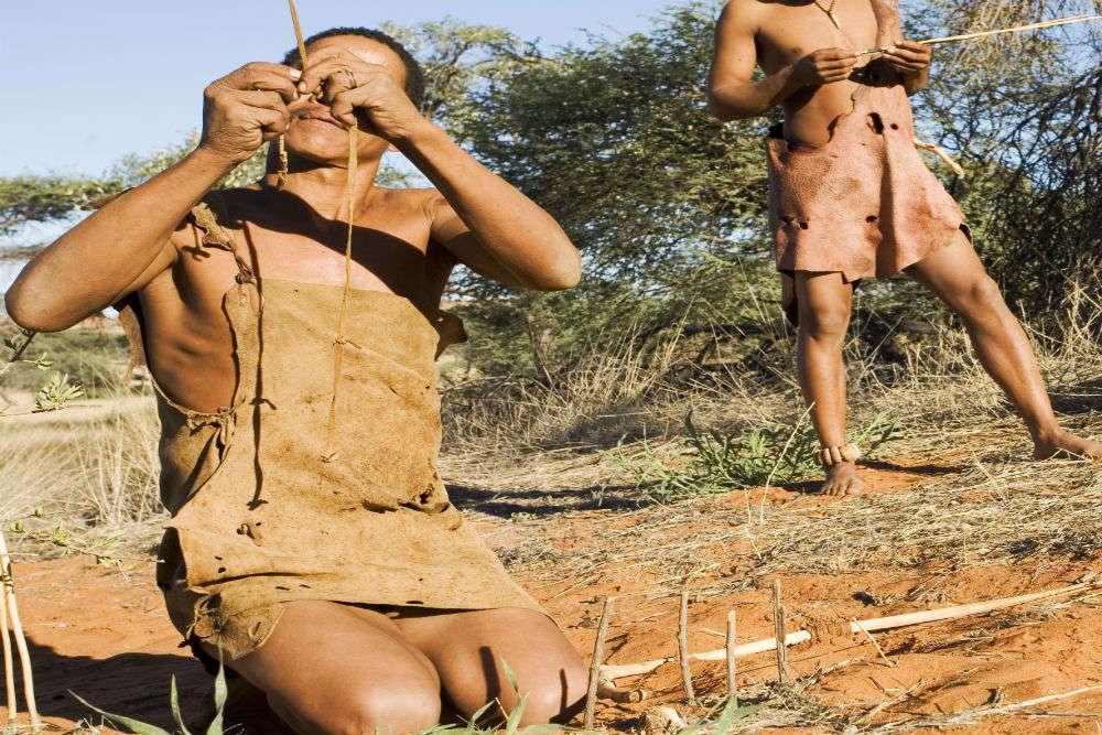Namibian bushmen