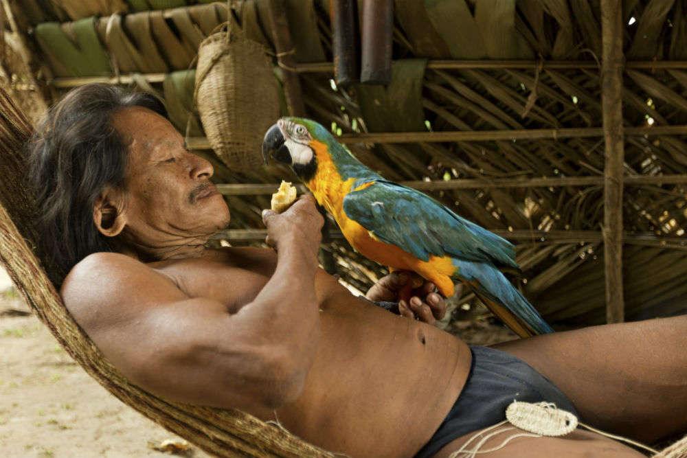 Huaorani people