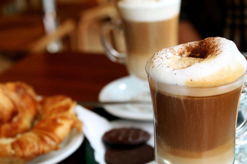Café culture in Edinburgh