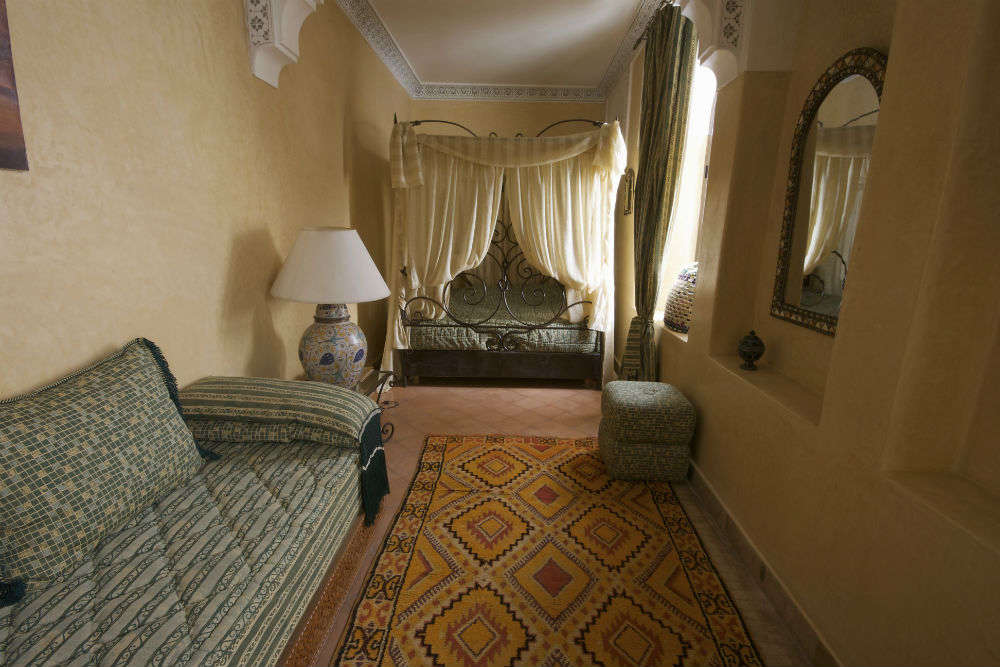 Experience life in a riad