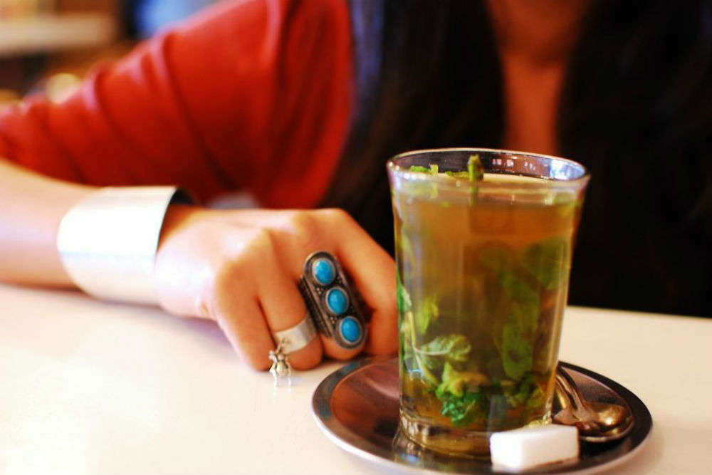 Have a cup of Moroccan Mint Tea