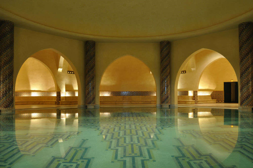 Experience a traditional Moroccan hammam