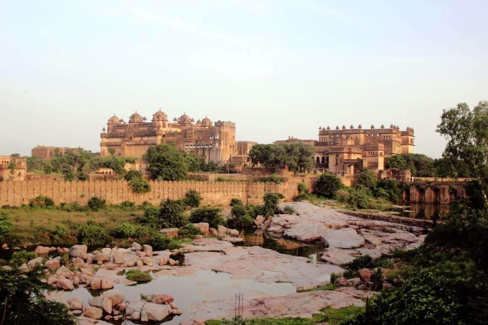 Exploring the architectural marvels of Orchha