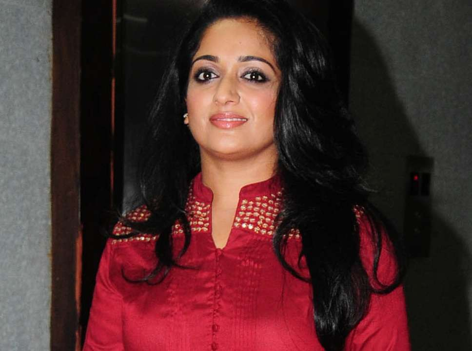 Kavya Madhavan Snapped At The Audio Launch Of Jilebi Held