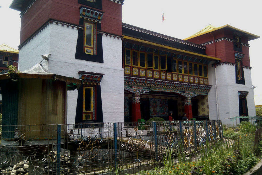 Museum at Namgyal Institute of Tibetology