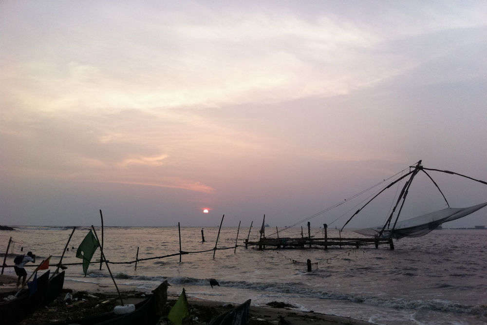 How to reach Fort Kochi