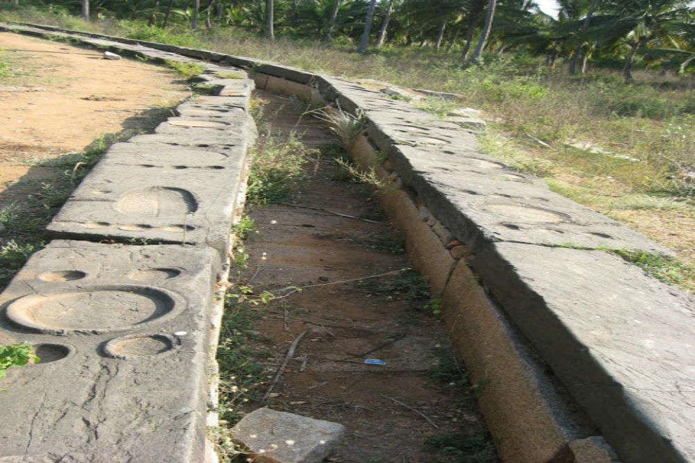 Bhojana shala and bridge