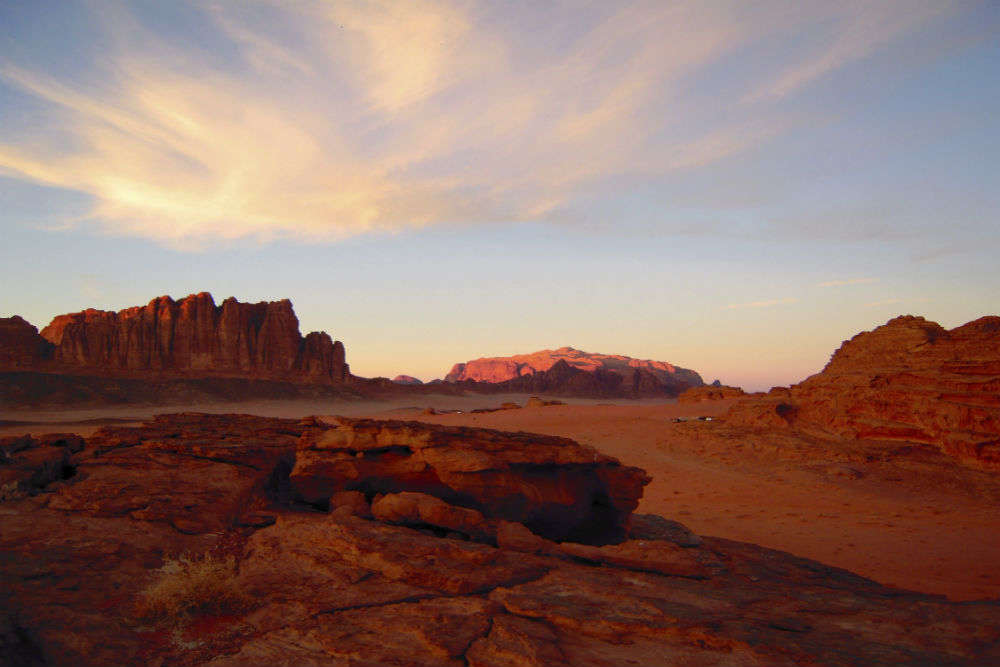 Sunset Camp in Wadi Rum
