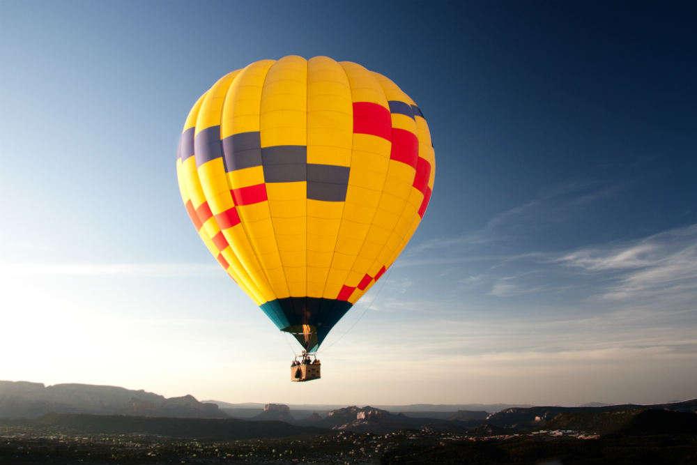 Horse Riding and Hot Air Balloon Ride
