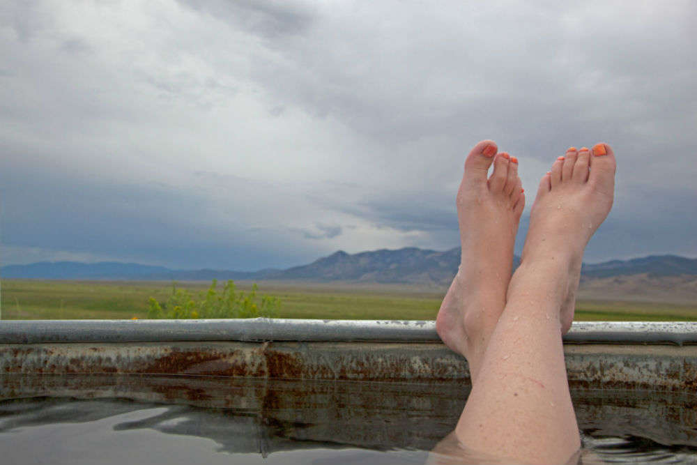 Nevada has over 300 hot springs