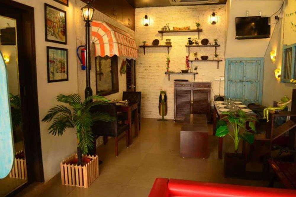Cafe hopping in Noida