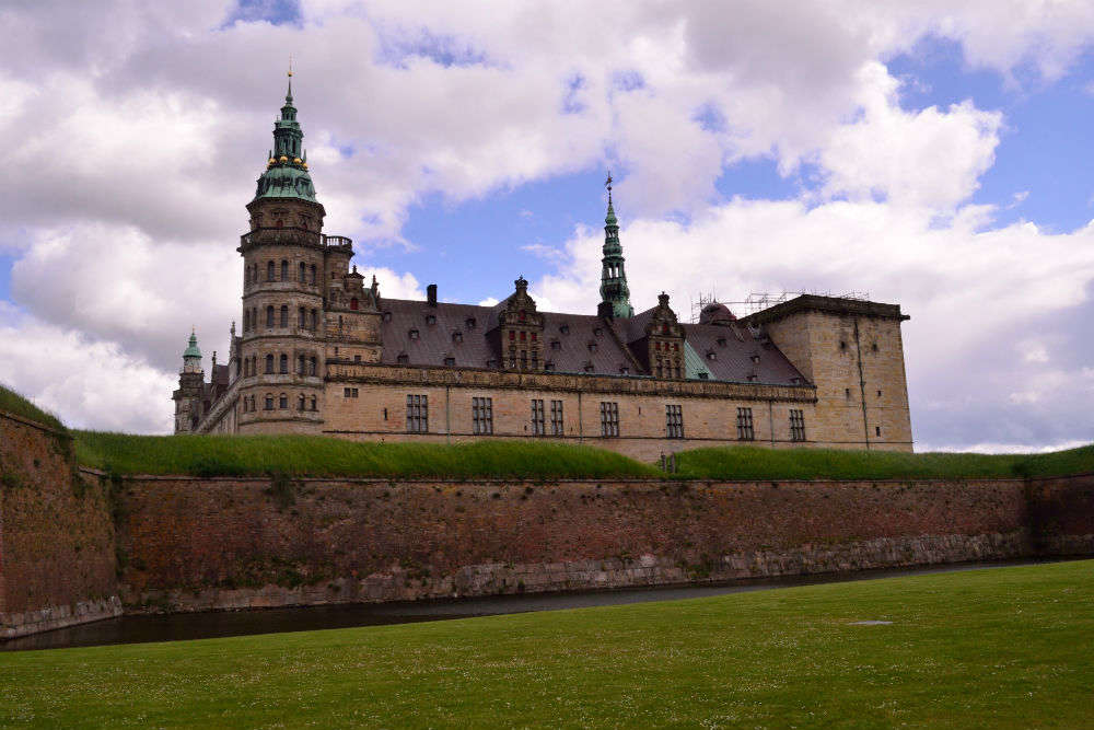 In Hamlet's footsteps at Kronborg