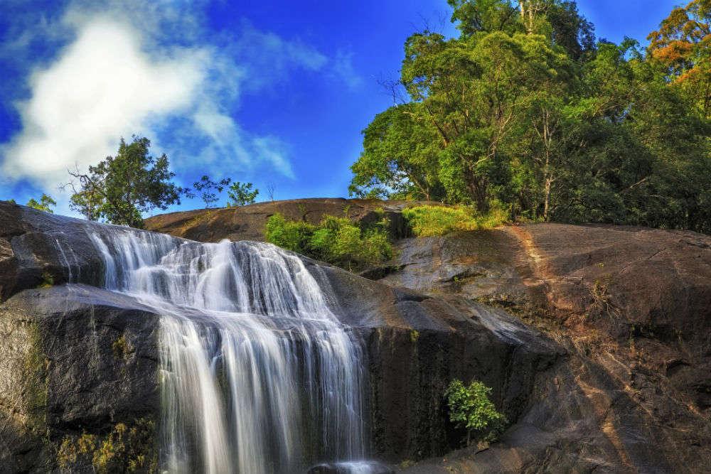 Telaga Tujuh Waterfalls or Seven Wells