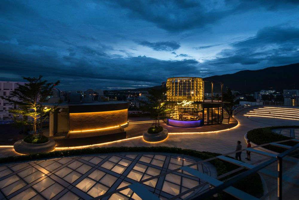 Myst Rooftop Bar and Restaurant - Maya Shopping Center