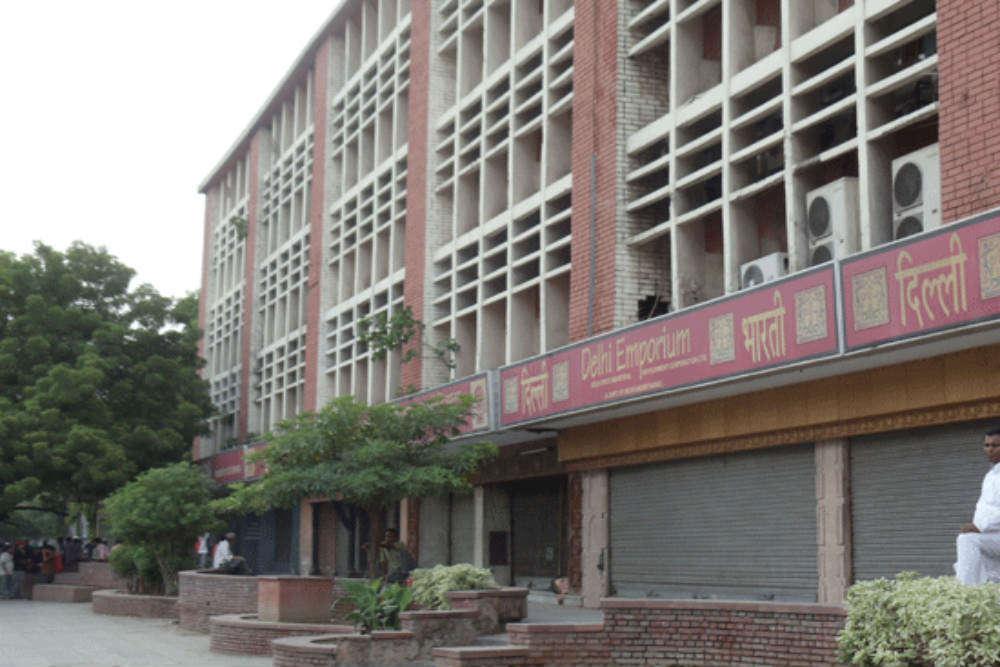 State Emporiums on Baba Kharak Singh Marg