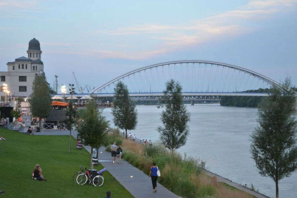 Danube Riverside in Bratislava