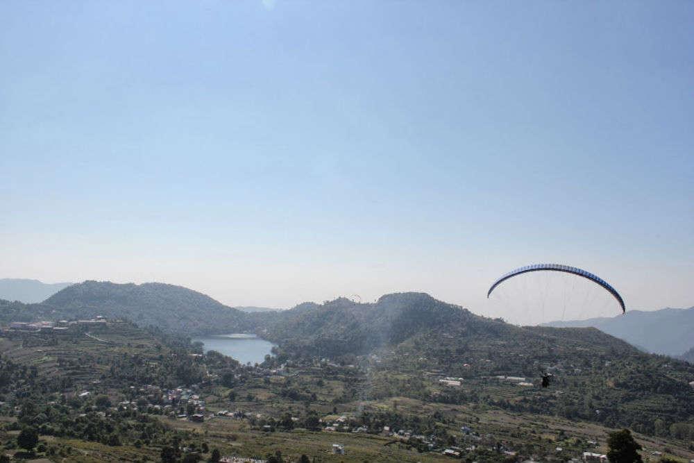 Paraglide over Naukuchiatal