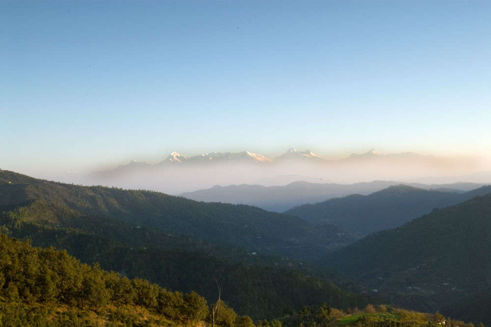 Behold the magnificent vistas of Mukteshwar