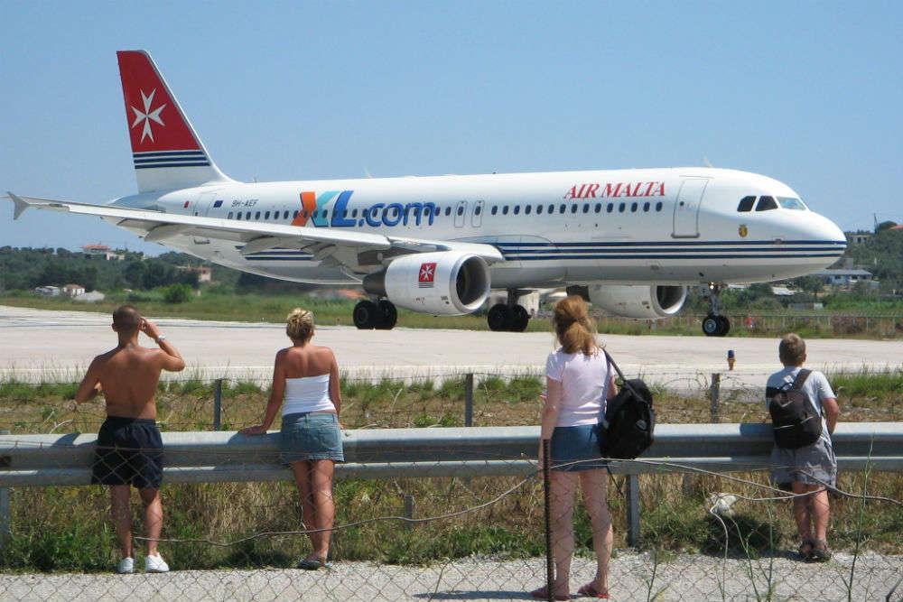 "Skiathos Airport, the ""Saint Martin"" of Greece"