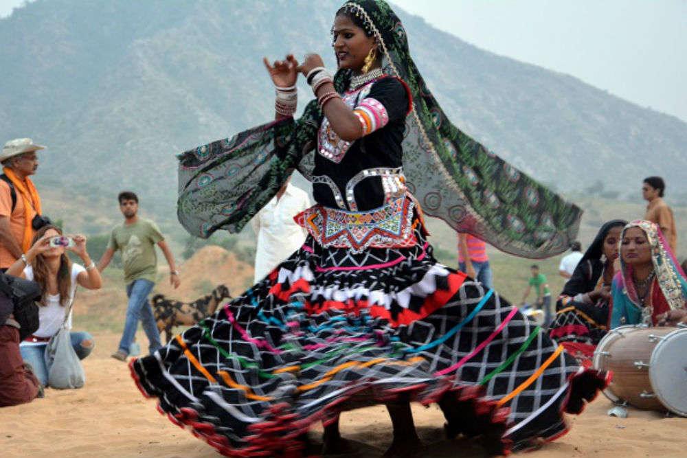 Enjoy a Kalbelia dance performance