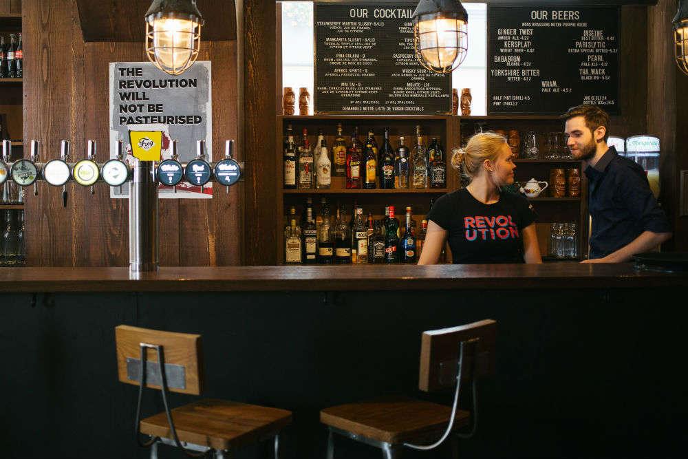 Finding American barbecue in Paris restaurants