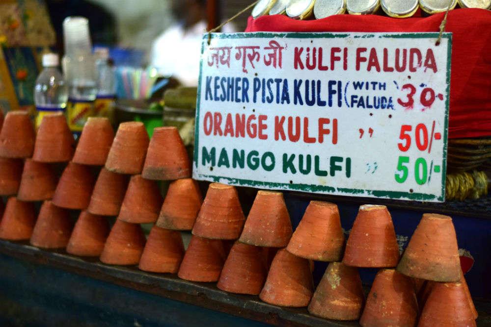 Real fruit kulfi