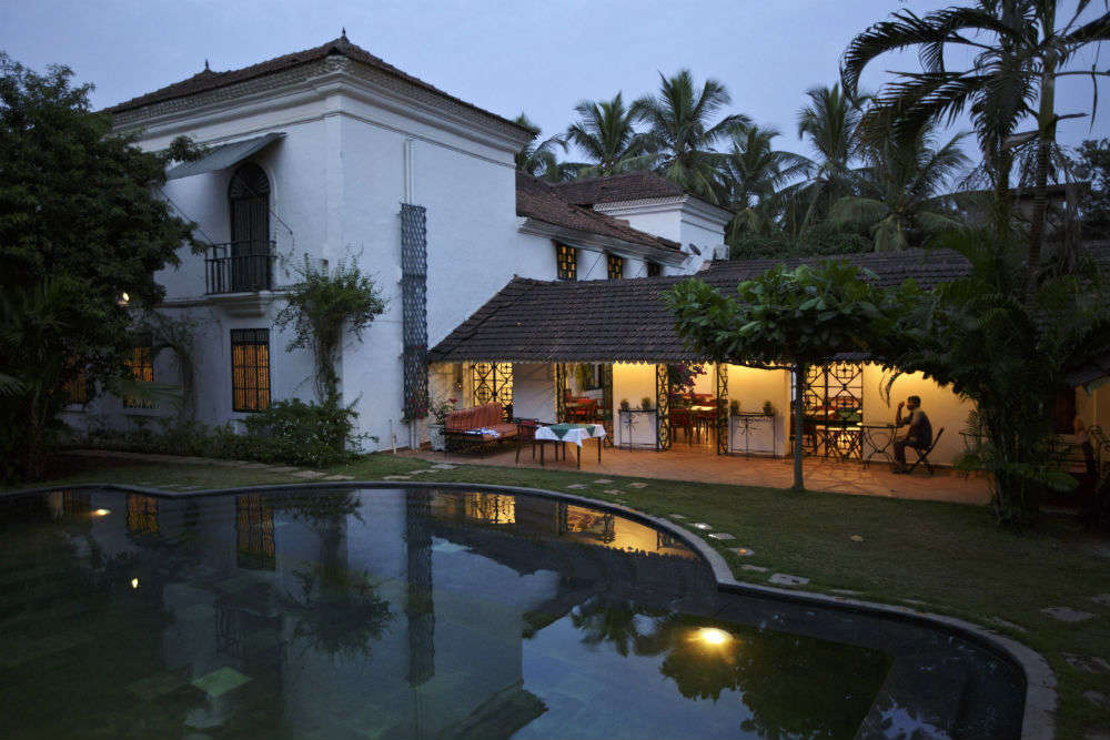 Hotels with history in Goa