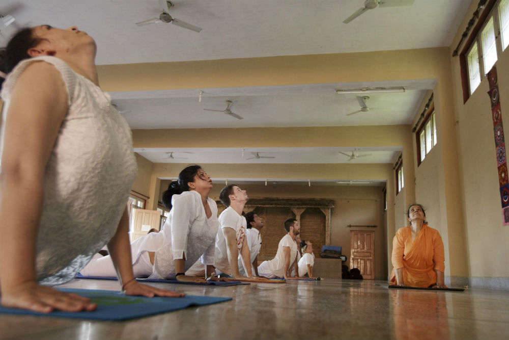 Unplugging in the unofficial capital of yoga