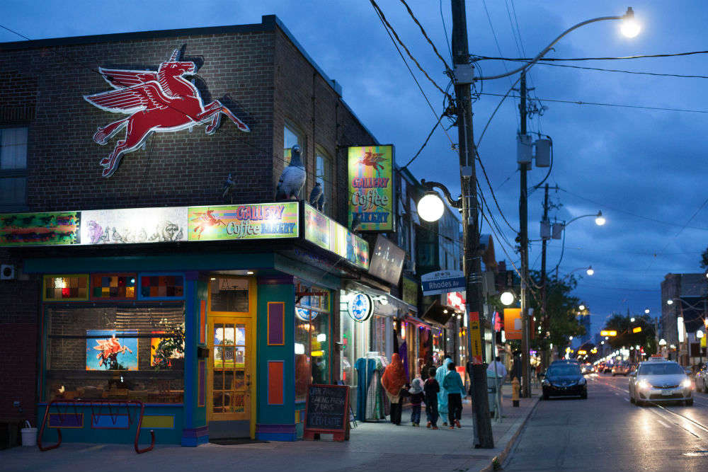 For Toronto's little India, a new crowd